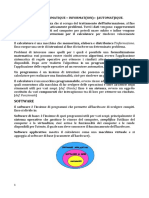 Fondamenti d'Informatica I - Modulo I