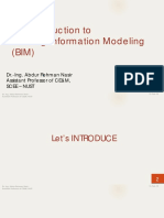 Building Information Modelling