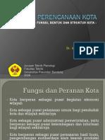 5. Fungsi, Bentuk dan Struktur Ruang Kota.pptx