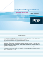 VTRON Display Wall Application Management Software User Manual