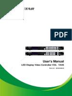 Video Controller VX4 Series User Manual-V1.0.0
