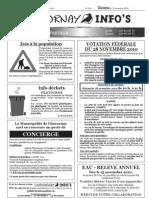 Chavornay Infos 12 novembre 2010