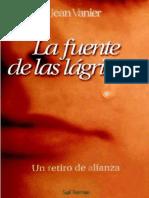 La fuente de las lagrimas - Jean Vanier.pdf