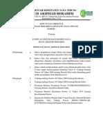 SK Panduan Sistem Manajemen Data