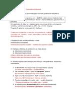 Atividade de língua portuguesa