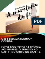 A MARATONA DA FÉ