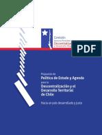 CAPDDR (2015). Propuesta de Política de Estado y Agenda Para La Descentralización y El Desarrollo