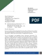 Columbia Supplemental Authority