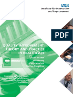 23c. Quality Improvement Theory and Practice in Healthcare