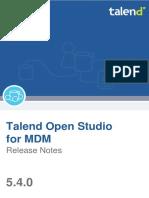 Talendopenstudio Mdm Releasenotes 5.4.0 En