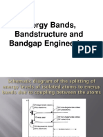 Energy Bands and Bandstructure