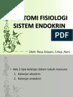 Ppt Sistem Endokrin