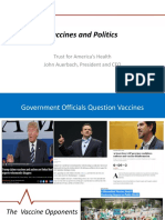 Politics and Vaccines