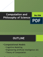Computation and Philosophy of Science