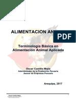 0.1 ALIMENTACION ANIMAL Terminologia Basica
