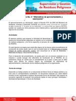 Trabajo Practico No 3 Alternativas de Aprovechamiento y Valorizacion