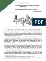 Oliveira 2014 RESENHA Notas Sobre o Observatório Da Vida Estudantil OVE – UFBA UFRB