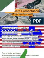 healthcare pressentation