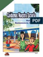 Manual de Operacion y Mantenimiento de escuelas