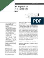 Afrontamiento Del Diagnostico Del Niño Con Cáncer
