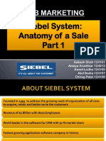 Siebel System Anatomy of a Sale Part 1