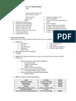 Listas de útiles Primaria