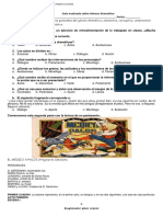 Guía evaluada Obra Dramática 8° básico