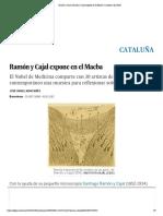 Ramón y Cajal- Ramón y Cajal expone en el Macba | Cataluña | EL PAÍS