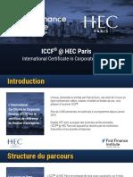 Brochure ICCF HEC Paris