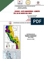 Alto amazonas evaluación sísmica