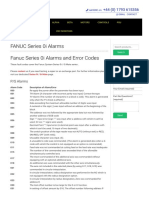 Fanuc Series 0i Alarms