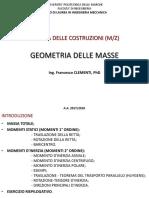 Unità 5 Geometria Delle Masse m z