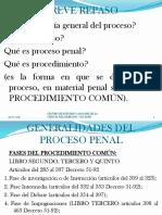 Generalides Del Proceso Penal Guatemalteco