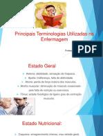 Terminologia em enfermagem slide