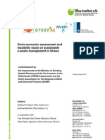 Socio-Economic Assessment and Feasibility Study E-waste Ghana 2010