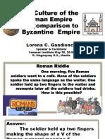 Culture of Roman Ppt LORENA