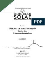 Manu - Epístolas de Pablo en Prisión 01