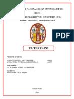 Informe El Terrazo 19-1