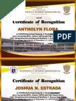 Kapariz Certificates