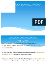 Colgajo Dorsal Ancho