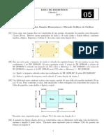Lista 05 Cálculo I 17.1