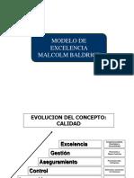 II Malcom Baldrige Alumnos
