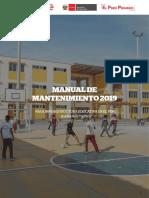 Manual Mantenimiento 2019 Instituciones Educativas