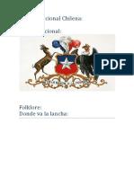 Música Nacional Chilena