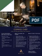 RMM-0038 Commis Chef