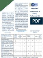 Jornada Cédula Profesional Celaya 2019