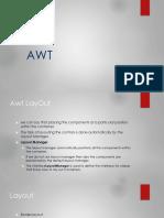 AWT Controls