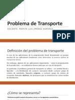 Problema Del Transporte