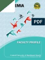 CUJ - Faculty Profile