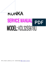 Diagrama Konka KDL32SS618u